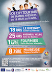 Affiche Job City Tour 2015